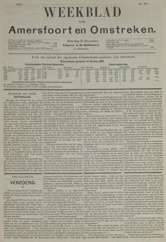 Weekblad voor Amersfoort en Omstreken 1878-12-21