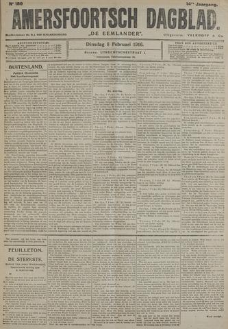 Amersfoortsch Dagblad / De Eemlander 1916-02-08