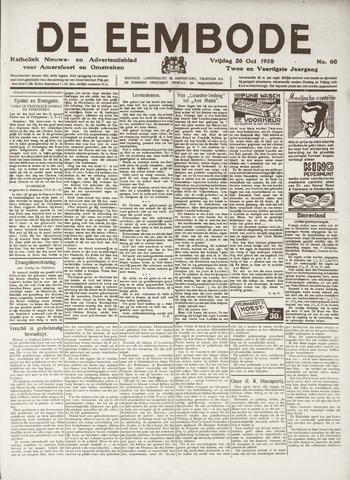 De Eembode 1928-10-26