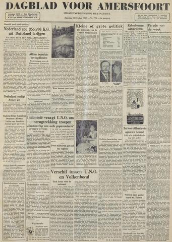 Dagblad voor Amersfoort 1947-10-18