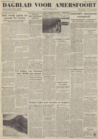 Dagblad voor Amersfoort 1948-02-27