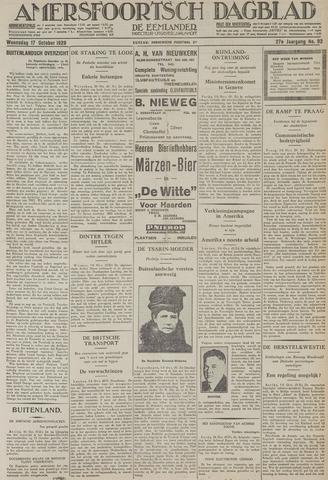 Amersfoortsch Dagblad / De Eemlander 1928-10-17