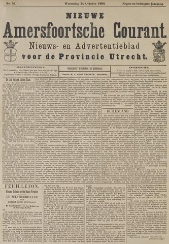 Nieuwe Amersfoortsche Courant 1900-10-24