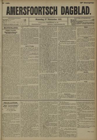 Amersfoortsch Dagblad 1911-11-27