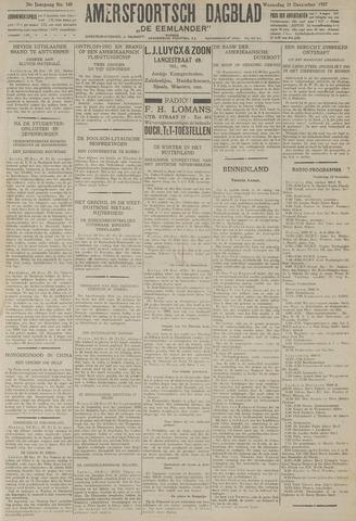 Amersfoortsch Dagblad / De Eemlander 1927-12-21