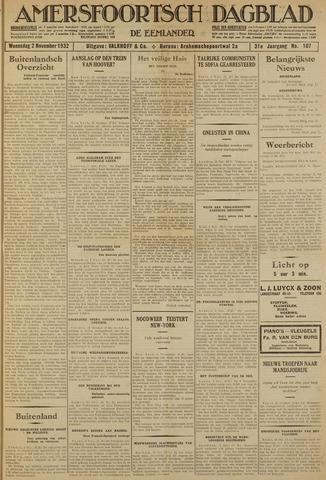 Amersfoortsch Dagblad / De Eemlander 1932-11-02