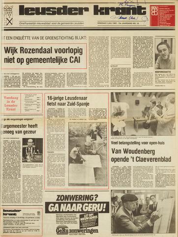 Leusder Krant 1983-07-05