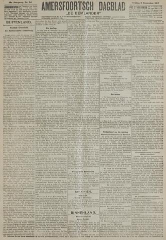 Amersfoortsch Dagblad / De Eemlander 1917-11-09