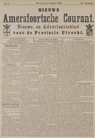 Nieuwe Amersfoortsche Courant 1912-01-17