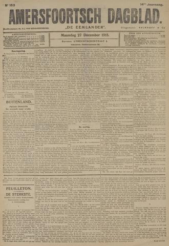 Amersfoortsch Dagblad / De Eemlander 1915-12-27