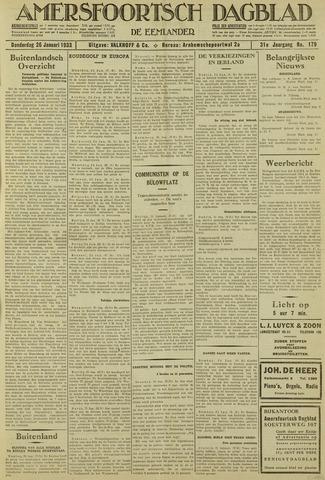 Amersfoortsch Dagblad / De Eemlander 1933-01-26