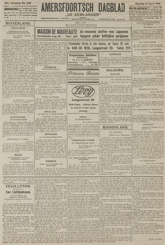 Amersfoortsch Dagblad / De Eemlander 1926-04-13