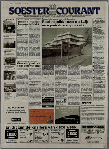 Soester Courant 2003-02-26