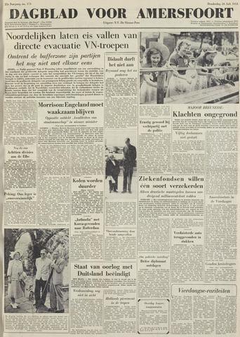 Dagblad voor Amersfoort 1951-07-26