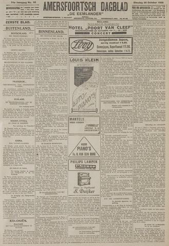 Amersfoortsch Dagblad / De Eemlander 1925-10-20