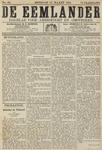 De Eemlander 1910-03-22