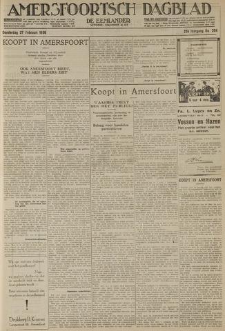 Amersfoortsch Dagblad / De Eemlander 1930-02-27