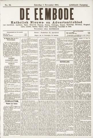 De Eembode 1904-11-05