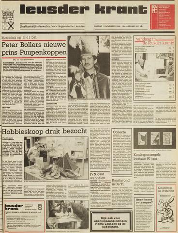 Leusder Krant 1986-11-11
