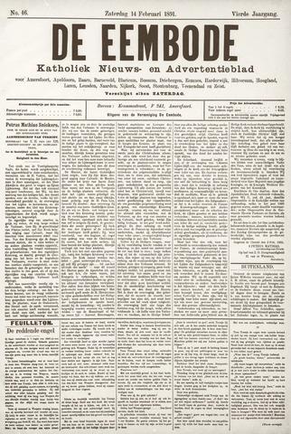 De Eembode 1891-02-14