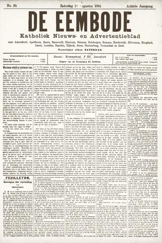De Eembode 1894-08-18