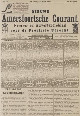 Nieuwe Amersfoortsche Courant 1916-03-22