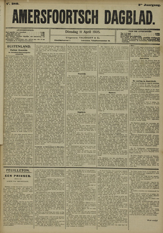 Amersfoortsch Dagblad 1905-04-11