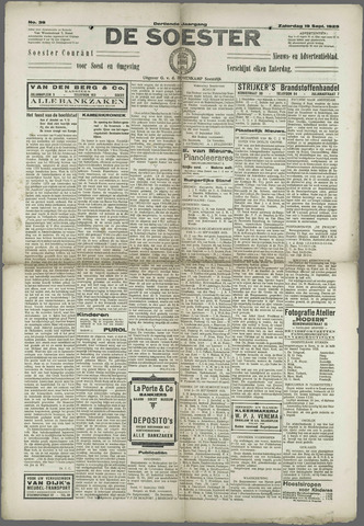 Soester Courant 1925-09-19