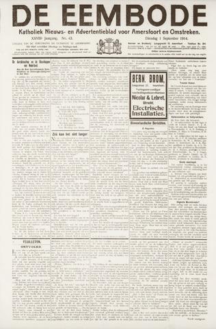 De Eembode 1914-09-01