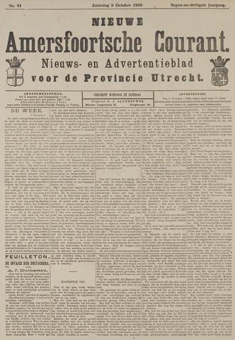 Nieuwe Amersfoortsche Courant 1910-10-08