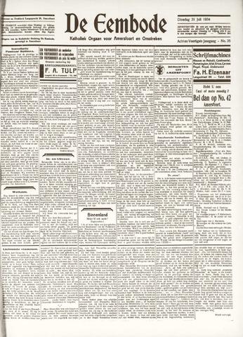 De Eembode 1934-07-31