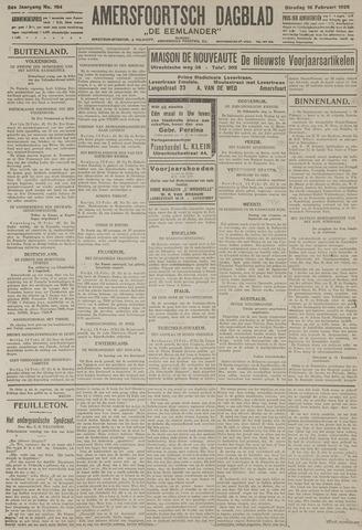Amersfoortsch Dagblad / De Eemlander 1926-02-16
