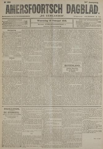 Amersfoortsch Dagblad / De Eemlander 1916-02-16