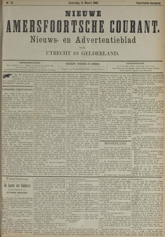 Nieuwe Amersfoortsche Courant 1885-03-14