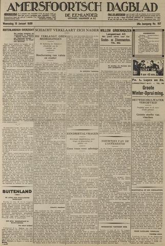 Amersfoortsch Dagblad / De Eemlander 1930-01-15