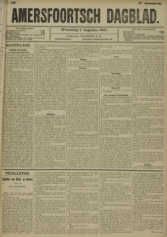 Amersfoortsch Dagblad 1905-08-09