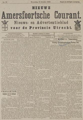 Nieuwe Amersfoortsche Courant 1910-10-19