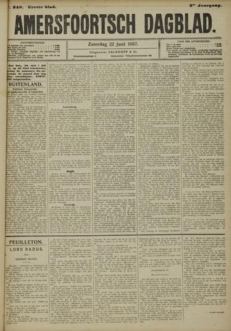 Amersfoortsch Dagblad 1907-06-22