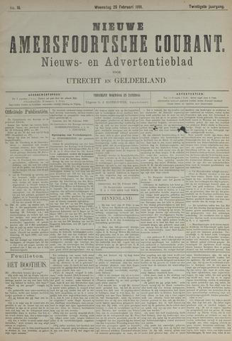 Nieuwe Amersfoortsche Courant 1891-02-25