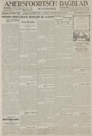 Amersfoortsch Dagblad / De Eemlander 1930-10-22
