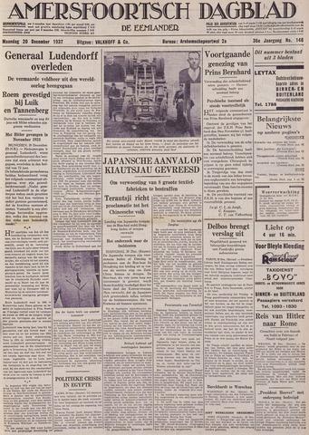 Amersfoortsch Dagblad / De Eemlander 1937-12-20
