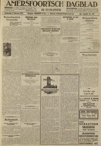 Amersfoortsch Dagblad / De Eemlander 1932-02-11