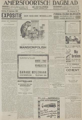 Amersfoortsch Dagblad / De Eemlander 1929-09-28