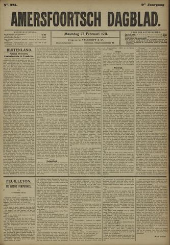 Amersfoortsch Dagblad 1911-02-27