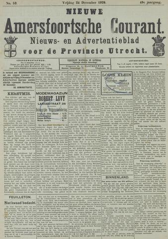 Nieuwe Amersfoortsche Courant 1920-12-24