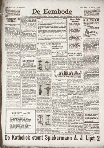 De Eembode 1939-06-16