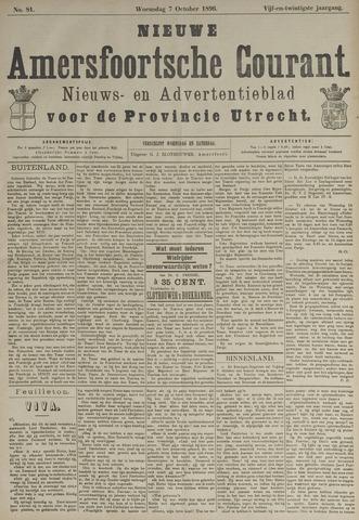 Nieuwe Amersfoortsche Courant 1896-10-07