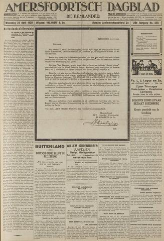 Amersfoortsch Dagblad / De Eemlander 1930-04-30