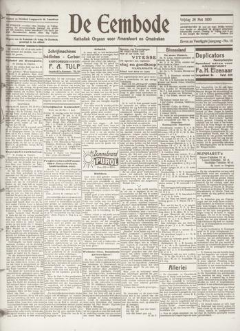 De Eembode 1933-05-26