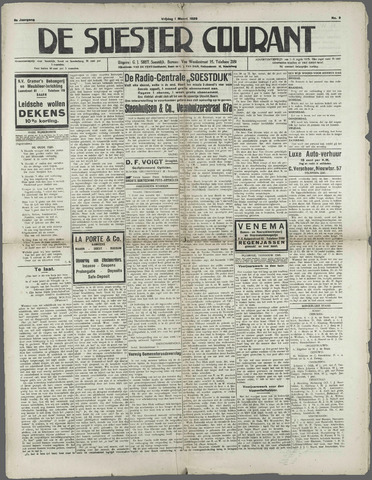 Soester Courant 1929-03-01